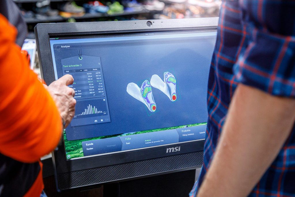 Boot Fitting Analyse
