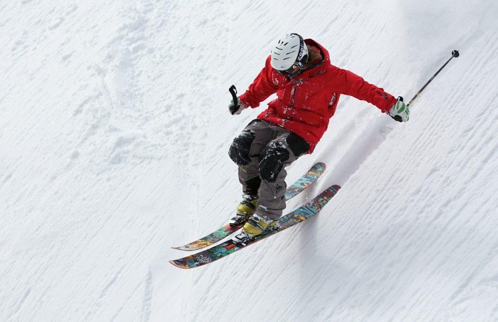 Ski alpin Tiefschnee