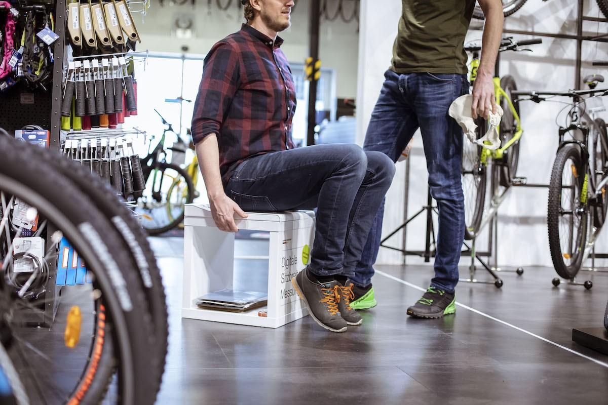 Bikefitting Sitzanalyse